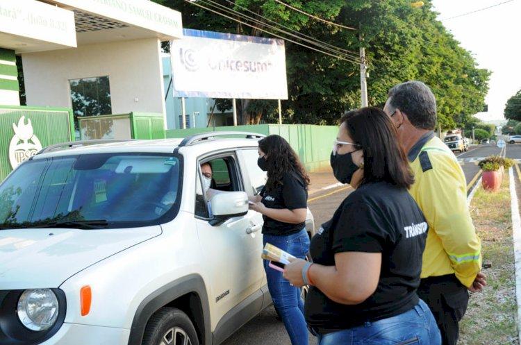 Trânsito na Escola: SMT inicia Campanha Educativa
