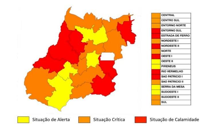 Estado divulga mapa com regiões críticas e padroniza medidas