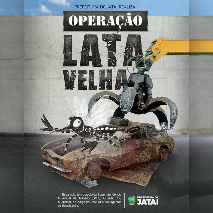 Operação Lata Velha retira sucatas das ruas de Jataí