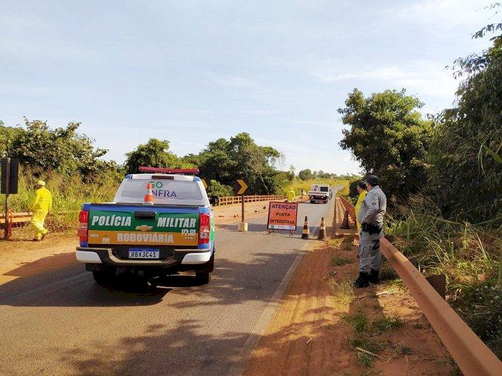 Deputado Zé Mário articula melhorias para a ponte na GO-184, entre Aporé e Serranópolis