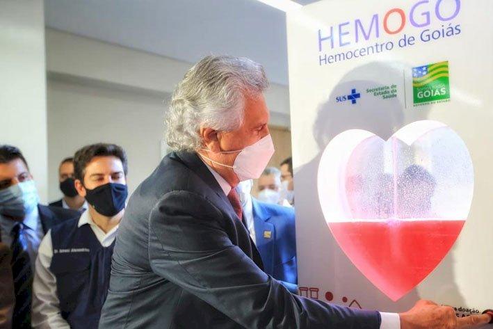 Hemocentro de Goiás: Governador inaugura a reforma e ampliação