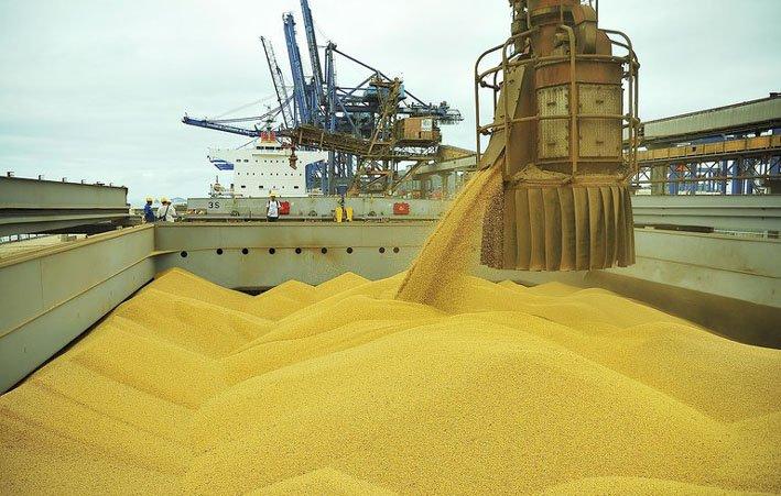 Goiás: Agronegócio corresponde a mais de oitenta por cento das exportações em maio