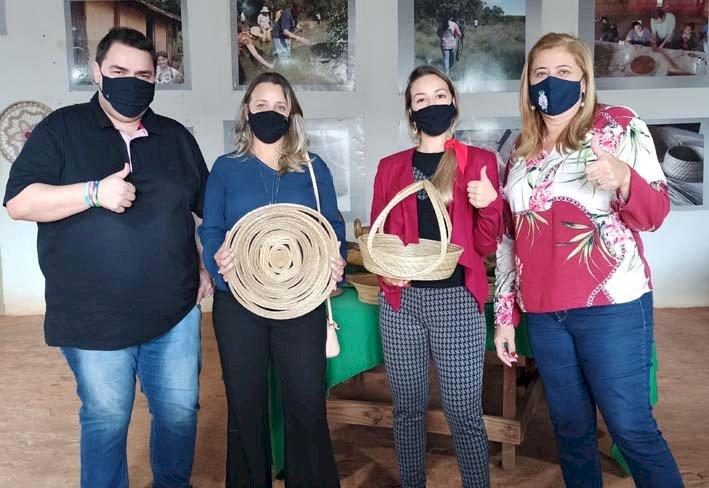 SERRANÓPOLIS: Armazém da Cultura recebe visita de autoridades de Chapadão do Céu