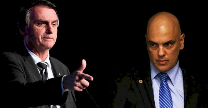Alexandre tornará Bolsonaro investigado no inquérito das fake news